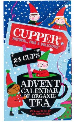 Bio Cupper Čaj Adventní kalendář 24ks 48g