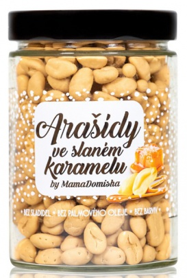 Big Boy Arašídy ve slaném karamelu @mamadomisha VÝPRODEJ