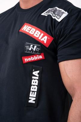 Nebbia pánské tričko Boys 171 černá