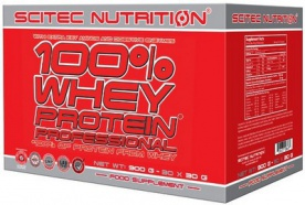 Scitec 100% Whey Protein Professional 30 x 30 g
