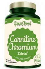 GreenFood Carnitin Chrom Lalmin® 60 kapslí