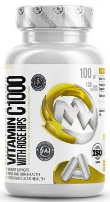 MaxxWin Vitamin C 1000 se šípky 100 kapslí