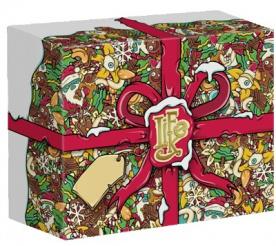 Lifelike Vánoční dárková krabice