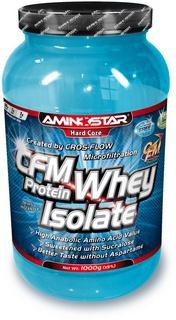 Výsledek obrázku pro Aminostar CFM Whey Protein Isolate 1000g