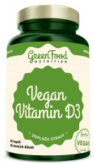 GreenFood Vegan Vitamin D3 60 kapslí