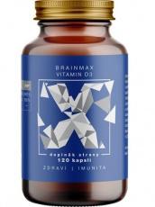 BrainMax Vitamin D3 5000 IU 120 rostlinných kapslí