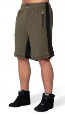 Gorilla Wear Pánské šortky Augustine Old School Shorts Army Green
