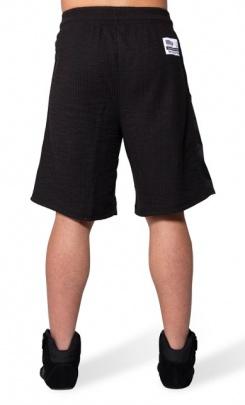 Gorilla Wear Pánské šortky Augustine Old School Shorts Black