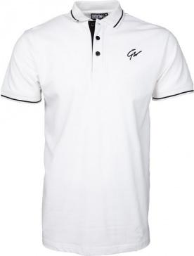 Gorilla Wear Pánské polo tričko Delano Polo White/Black