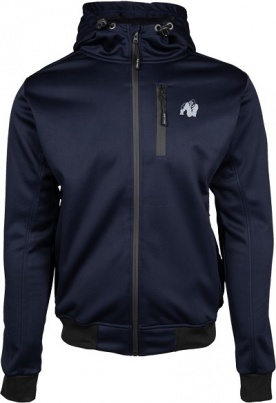 Gorilla Wear Pánská bunda Glendale Softshell Jacket Navy Blue