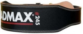 Mad Max opasek celokožený full leather MFB245 černý