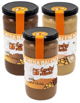 Lucky Alvin Arašídový krém s čokoládou mega balení 750 g