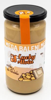 Lucky Alvin Arašídový krém s mléčnou čokoládou mega balení 750 g