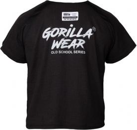 Gorilla Wear Augustine Old School Work Out Top Black