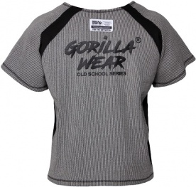 Gorilla Wear Augustine Old School Work Out Top Grey