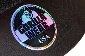 Gorilla Wear Kšiltovka Mesh Cap černá