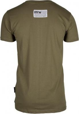 Gorilla Wear Pánské tričko s krátkým rukávem Classic T-shirt Army Green