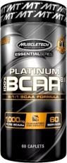 MuscleTech Platinum 100% BCAA 8:1:1 60 kapslí