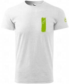 Fitness007 Pánské tričko světlé šedé #musíšfurt