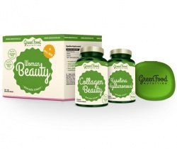 GreenFood Woman Beauty + pillbox