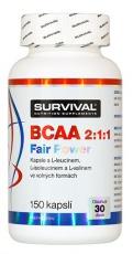 Survival BCAA 2:1:1 Fair Power® 150 kapslí