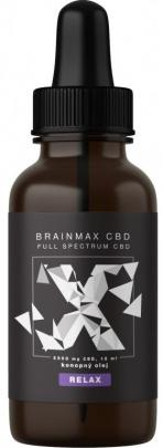 BrainMax CBD olej 25 % 2500 mg 10 ml - Relax