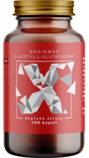 BrainMax S-Acetyl-L-Glutathione 100 mg 100 kapslí
