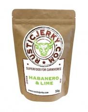 Rustic Jerky Habanero & Lime 50 g