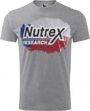 Nutrex pánské tričko šedivé