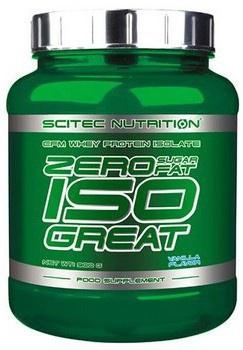 Scitec Nutrition Zero Iso Great 900 g