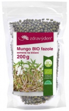 Zdravý den Mungo BIO 200 g - fazole na klíčení