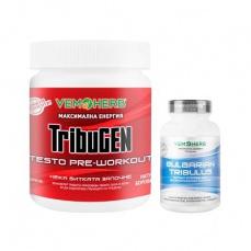 VemoHerb TribuGEN 300 g borůvka + Tribulus Terrestris 90 kapslí