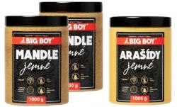 Big Boy Mandlový krém 2x 1 kg + arašídový krém 1 kg ZDARMA