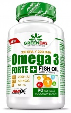 Amix Omega 3 Forte+ 90 kapslí