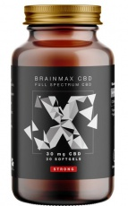 BrainMax CBD Strong 30 mg 30 kapslí