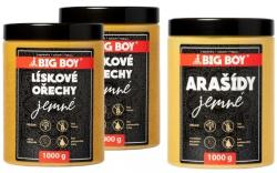 Big Boy Lískoořechový krém 2x 1000 g + arašídový krém 1 kg ZDARMA