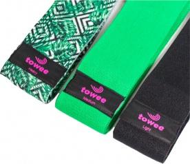 Towee Booty Band textilní odporová guma sada 3 ks