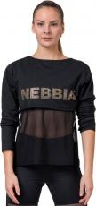 Nebbia Intense Mesh tričko 805 - S