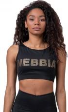 Nebbia Gold Mesh mini top 830