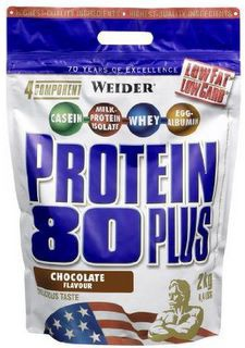 Weider Protein 80 Plus 2000 g - lesní plody