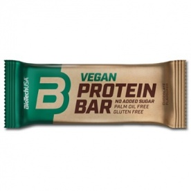 BiotechUSA Vegan Protein Bar 50 g 4+1 ZDARMA