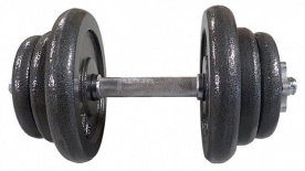 Acra Jednoruční litinová nakládací činka 20 kg