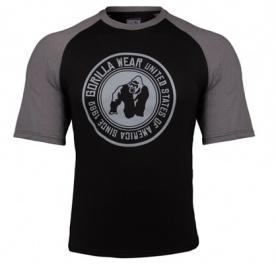Gorilla Wear Pánské tričko Texas T-shirt Black/Dark Gray