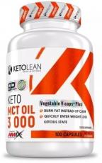Amix KetoLean Keto MCT Oil 3 000mg 100 kapslí