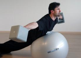 Ledragomma Gymnastický míč PROmaxafe 65 cm