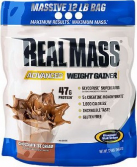 Gaspari Real Mass Weight Gainer 5454 g