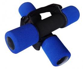Acra Molitanové jednoruční činky na aerobic