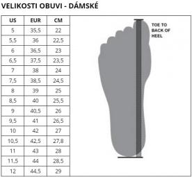 Dámská běžecká obuv Under Armour W Charged Pursuit 2 - 3022604-101