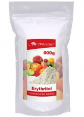 Zdravý den Erythritol nízkokalorické sladidlo 500g