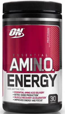 Optimum Nutrition AmiN.O. Energy 270g PROŠLÉ DMT